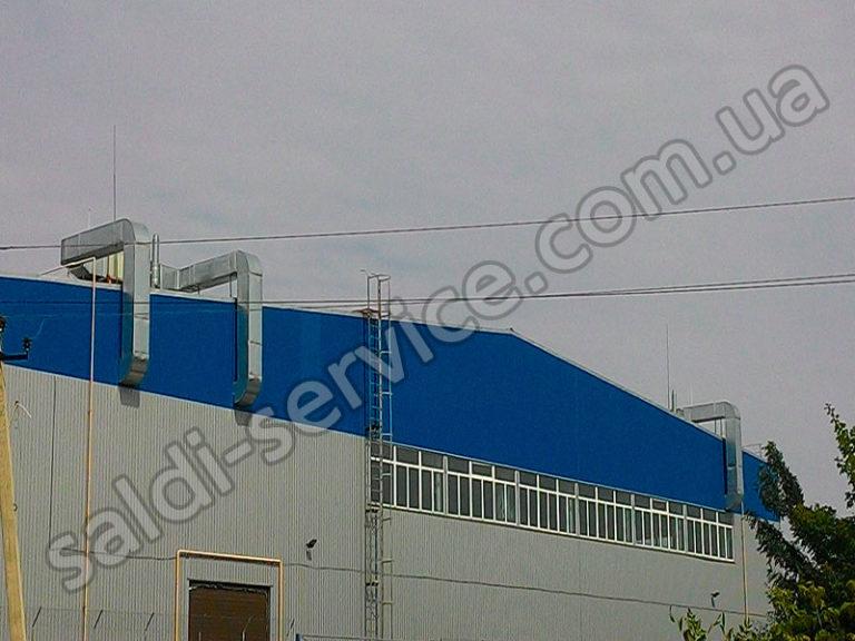 Установка вентиляции на СТО и складских помещениях