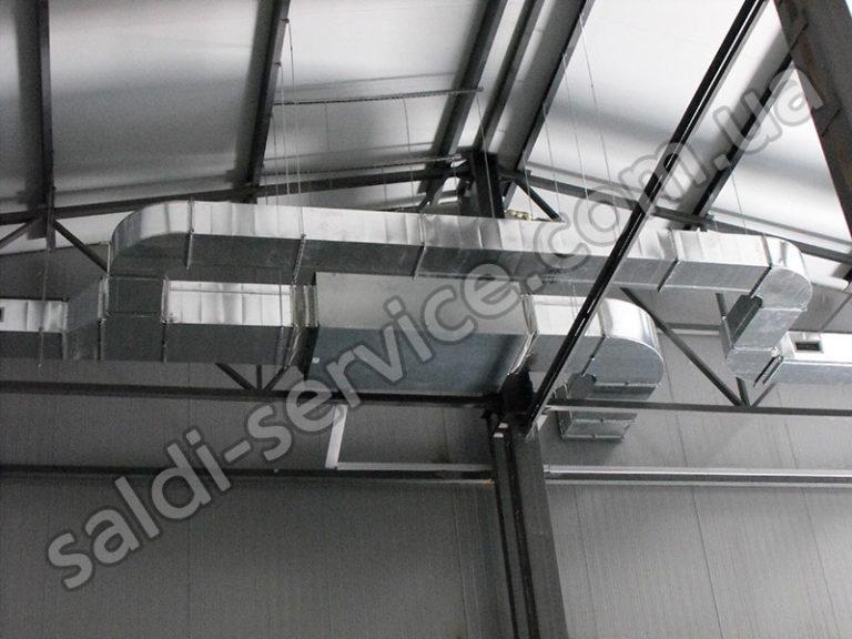 Вентиляция для складских помещений минеральных удобрений