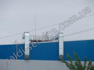 Вентиляція СТО і складські приміщення