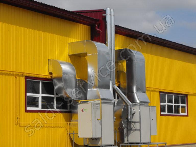 Вентиляция в складских помещениях
