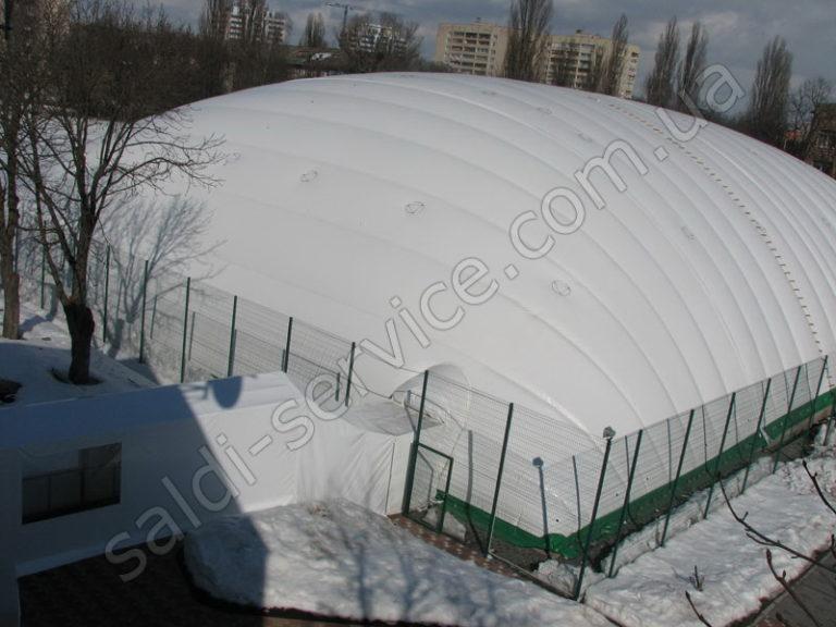 Воздухоопорная конструкция спортивный клуб «Меридиан»