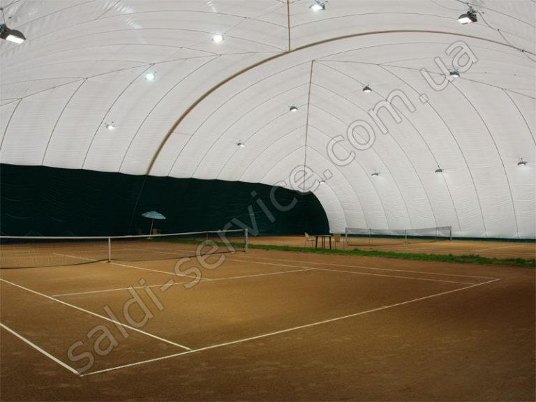 Воздухоопорные конструкции Vip-клуб «5 элемент» внутри