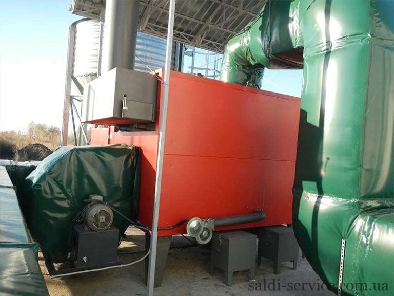 Воздушное отопление котел для ВОК