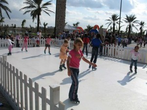 Ice rink for children