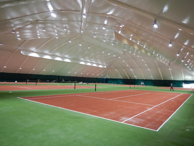 LED освещение 6-ти теннисных кортов в клубе Восход г. Днепр (3)