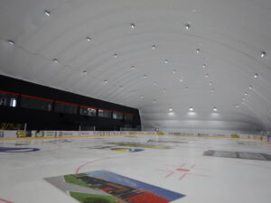Lighting of the ice arena with LED floodlights in Mariupol (3)