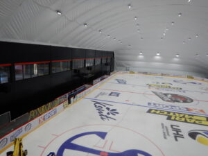 Lighting of the ice arena with LED floodlights in Mariupol (5)