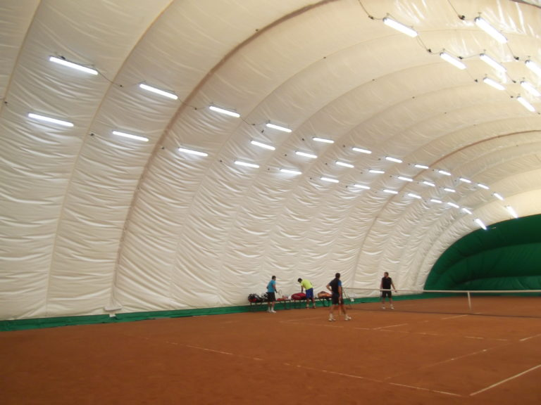 LED освещение 2-ух теннисных кортов спорт-клуба «Максимум» (3)