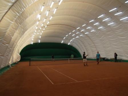 LED освещение 2-ух теннисных кортов спорт-клуба «Максимум» (4)