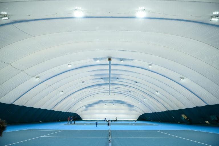 LED освещение 3-х теннисных кортов в Киеве (1)