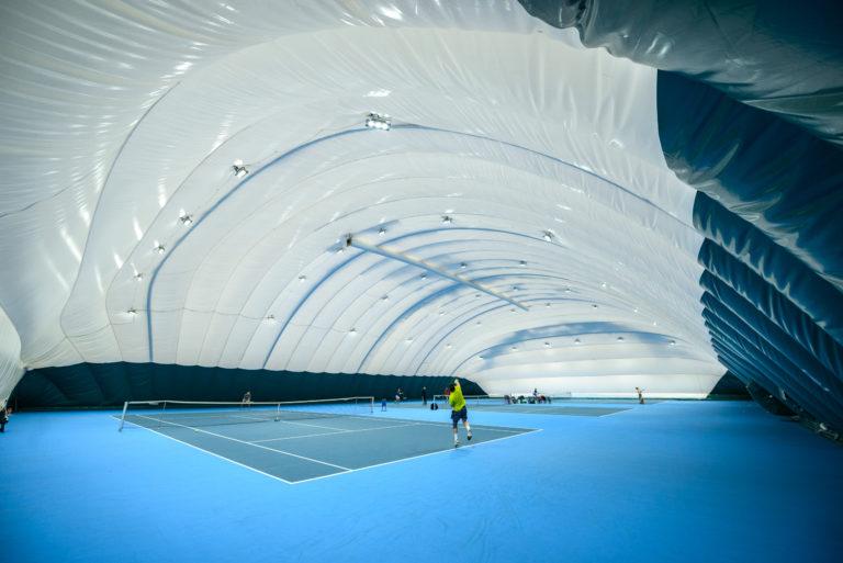 LED освещение 3-х теннисных кортов в Киеве (4)