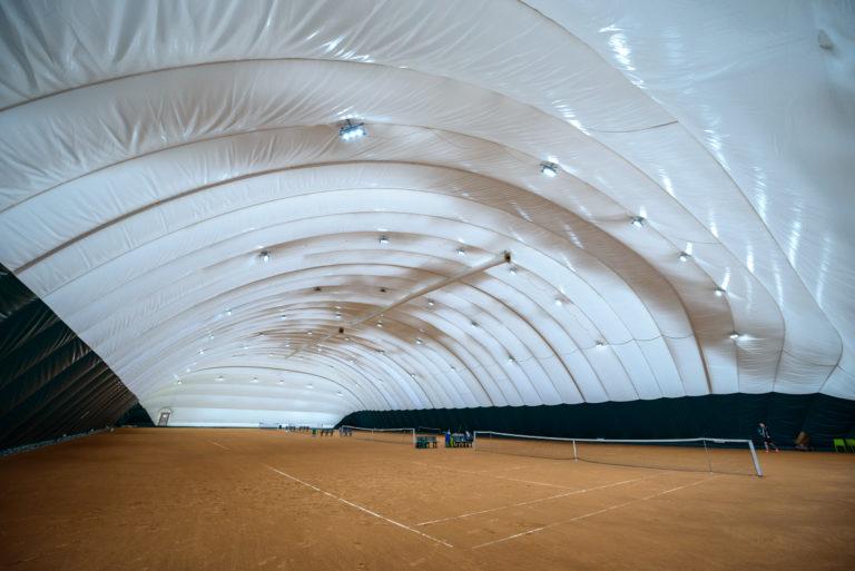 LED освещение 4-х теннисных кортов в Киеве (4)