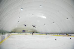 Освітлення LED льодової ковзанки на ВДНГ в Києві (1)