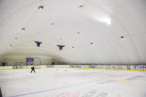 Освітлення LED льодової ковзанки на ВДНГ в Києві (2)