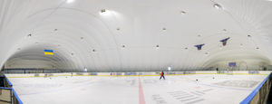 LED lighting of the ice rink at EANE in Kiev (3)