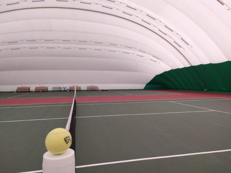 Воздухоопорная конструкция для спорт-комплекса во Львове (1)
