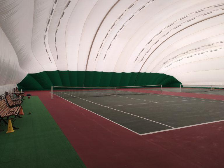 Воздухоопорная конструкция для спорт-комплекса во Львове (2)