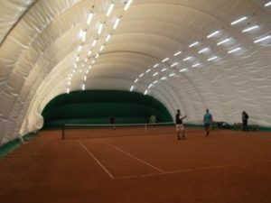 Air-supported structure for sports club «Maximum» (1)