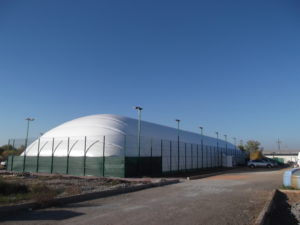 Air-supported structure for sports club «Maximum» (2)
