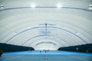 Повітроопірна конструкція для тенісного корту в Жулянах (1)