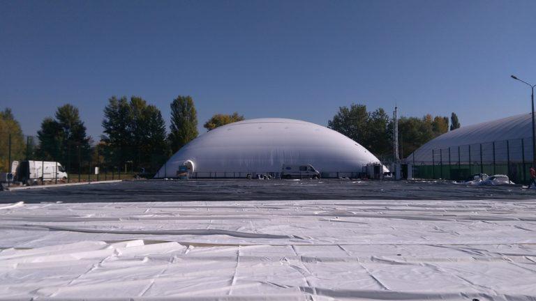 Воздухоопорная конструкция для теннисного корта в Жулянах (4)