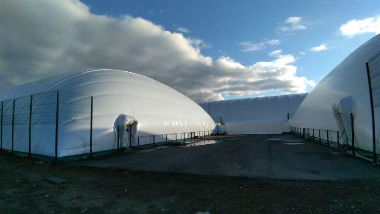 Воздухоопорная конструкция для теннисного корта в Жулянах (7)