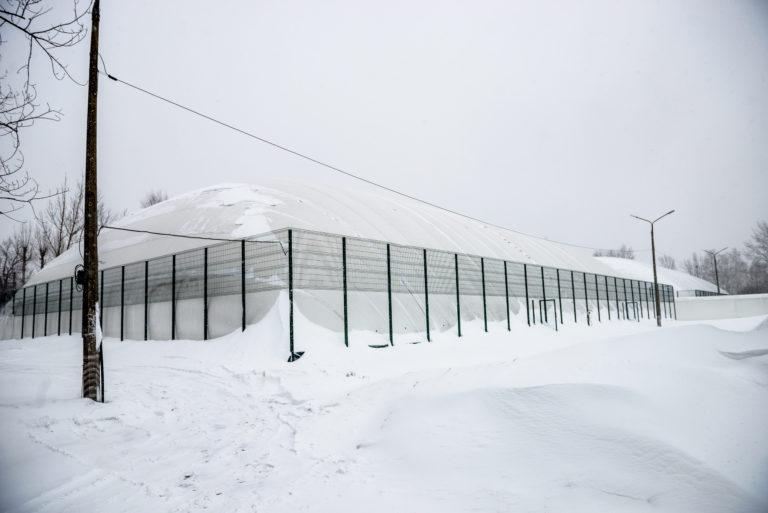 Воздухоопорная конструкция для теннисного корта в Жулянах (9)