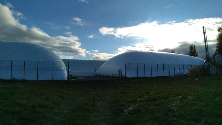 Воздухоопорное сооружение для теннисного корта в Жулянах (5)